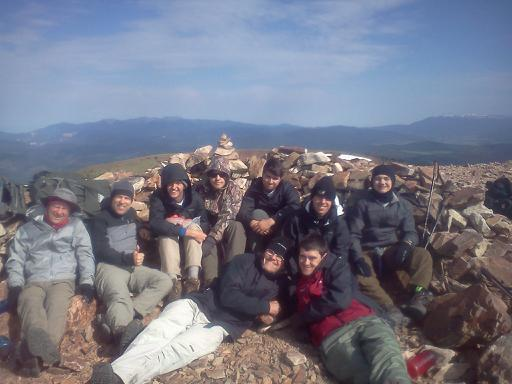 Philmont 2016 on Baldy